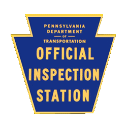 PA Certified Inspection Station logo